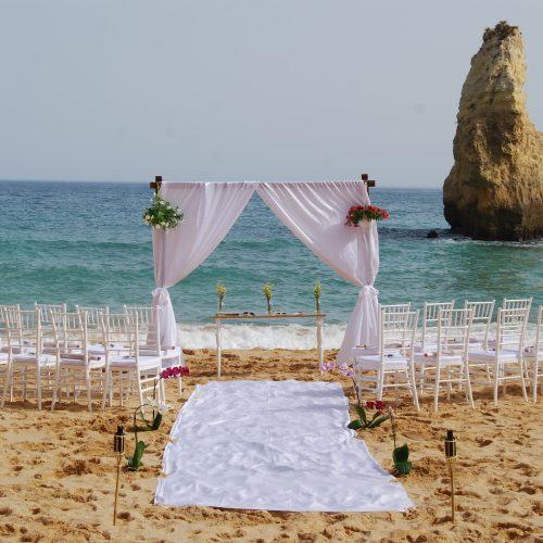 Beach ceremony Algarve