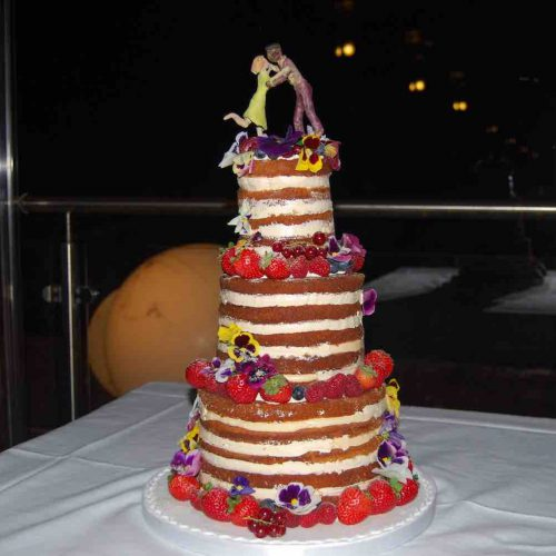 Naked Rum Cake Algarve Wedding