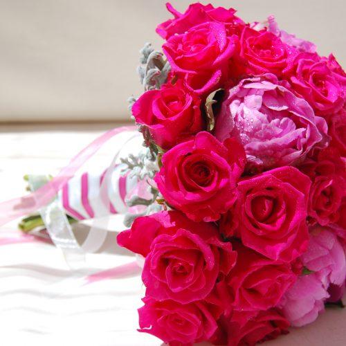 Brides bouquet for Algarve wedding