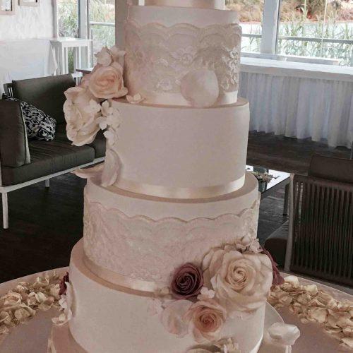 Spectacular Algarve Wedding Cake