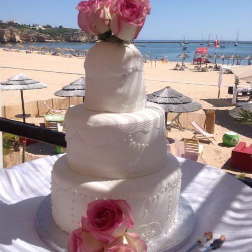 Algarve wedding Cake