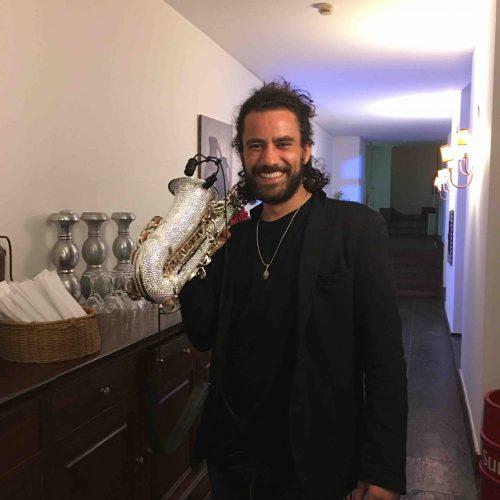 London Saxophonist at Algarve Wedding