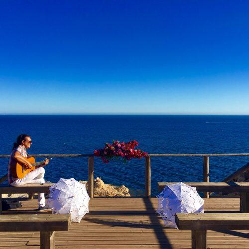 Ceremony Algarve with perfect views